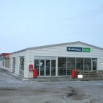 Samkaup supermarket and post office