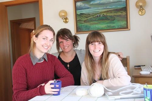 Rosalind, Caroline and Noelle
